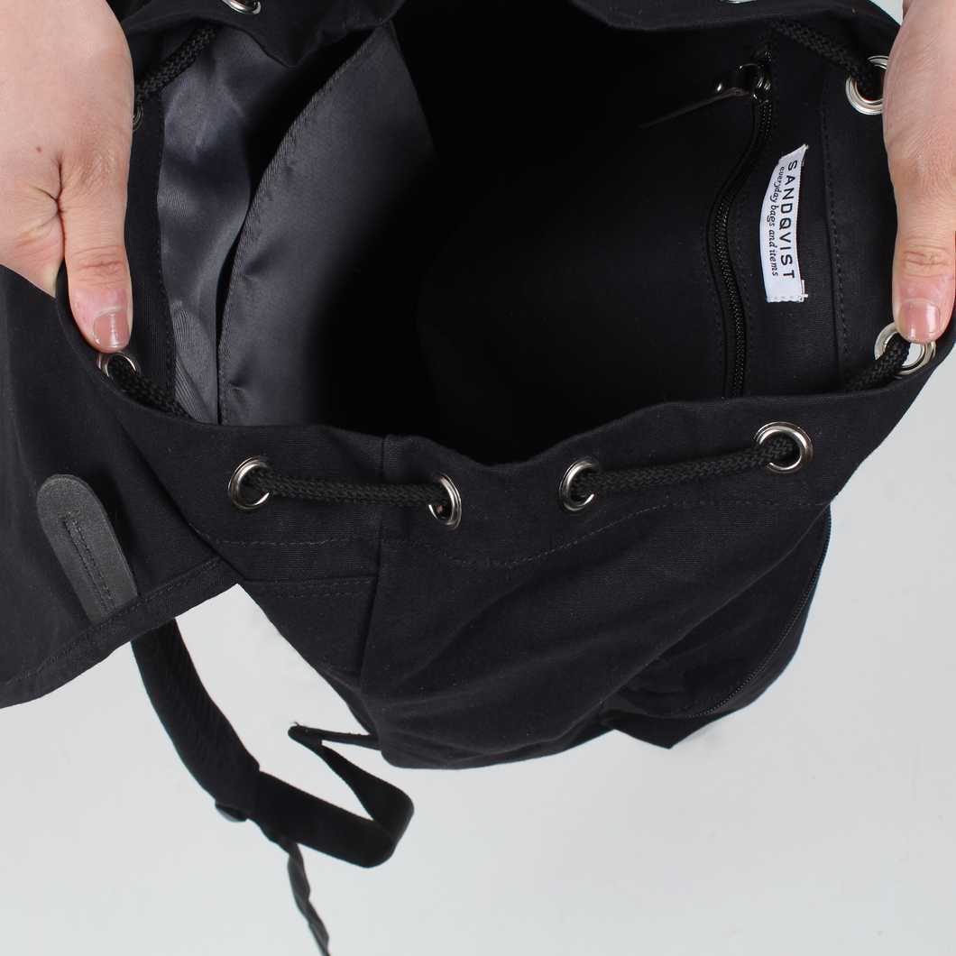 Sandqvist Backpacks Roald Ground Black