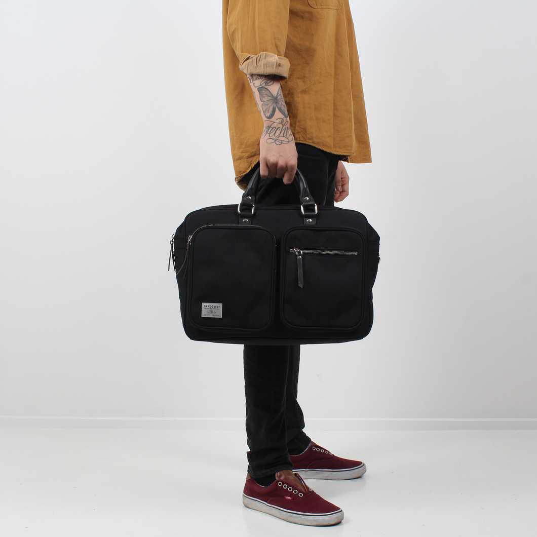 Sandqvist Laptop Bags Arne Black