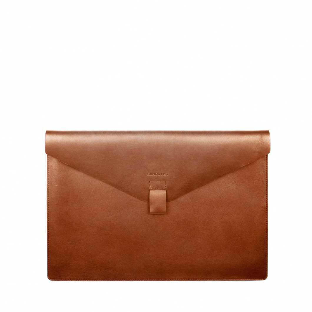 Gustav - Cognac brown