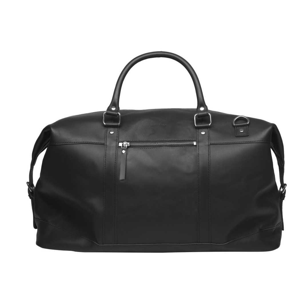 Jordan - Black leather